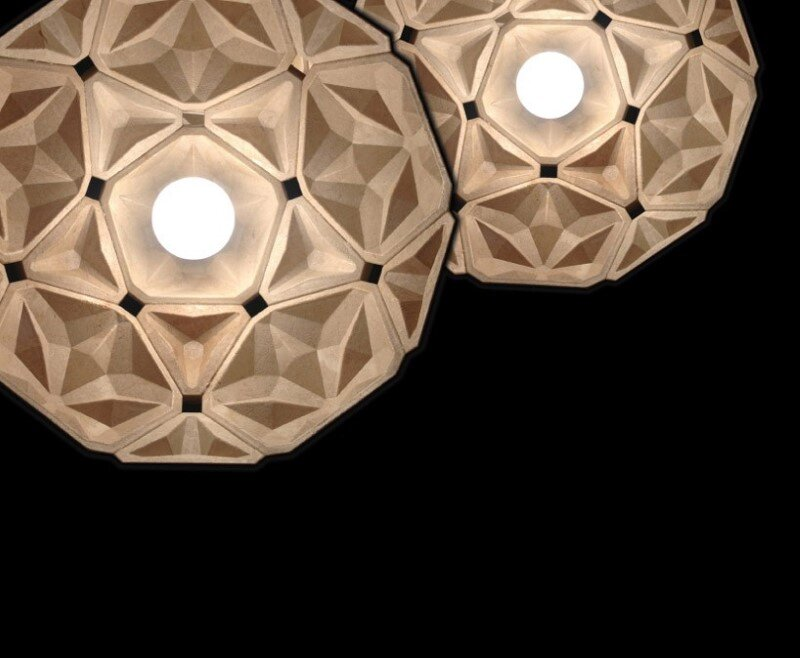 Penta Lamp Collection - aesthetics and sustainability through recycling of cassava waste (8)