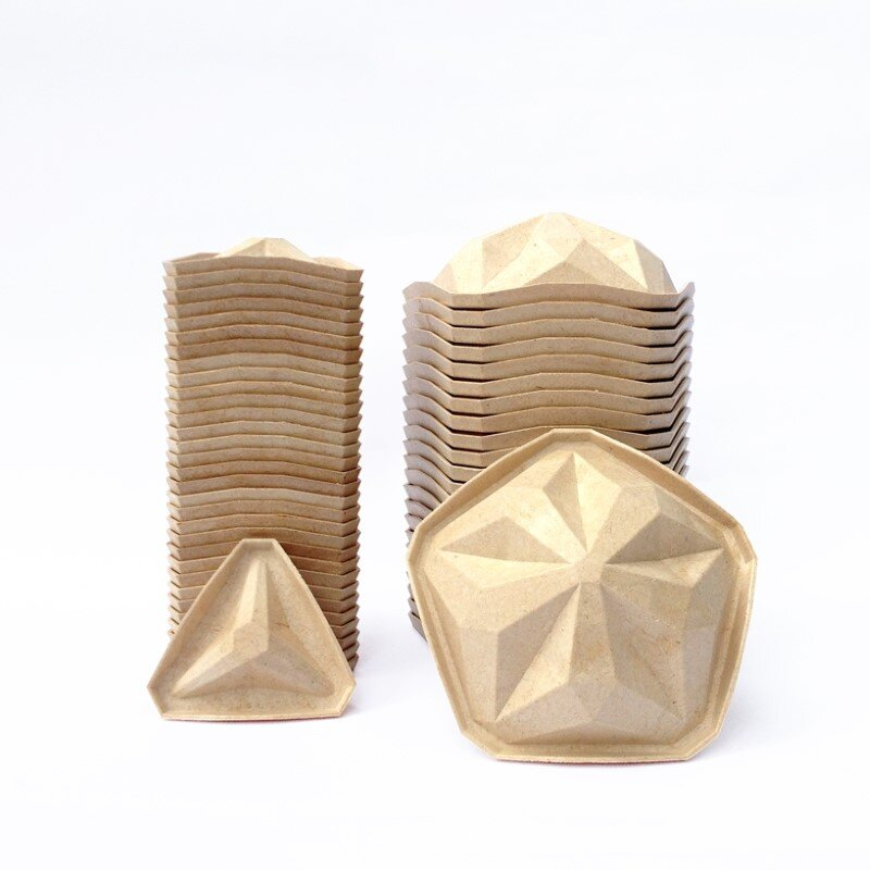 Penta Lamp Collection - aesthetics and sustainability through recycling of cassava waste (9)
