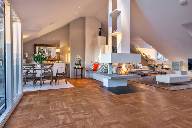 Scandinavian attic apartment with exceptional interior and sunny terraces (13)
