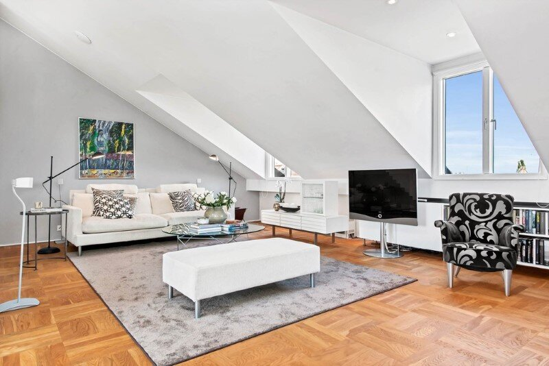 Scandinavian attic apartment with exceptional interior and sunny terraces (19)
