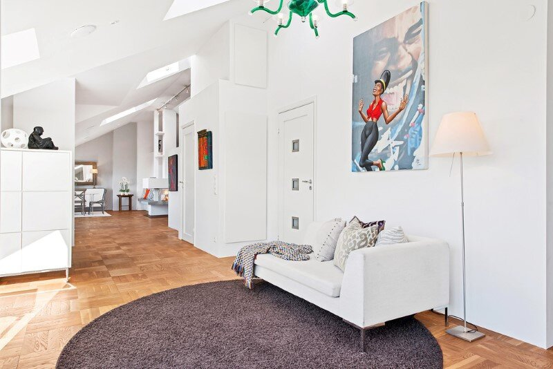 Scandinavian attic apartment with exceptional interior and sunny terraces (2)