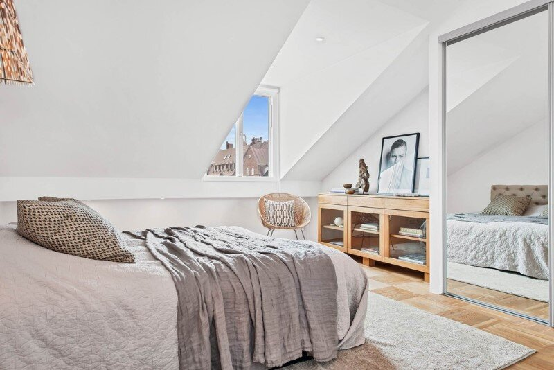 Scandinavian attic apartment with exceptional interior and sunny terraces (21)