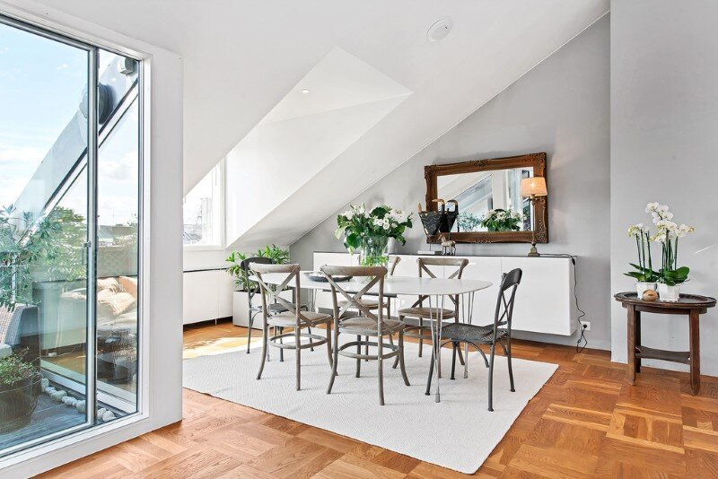 Scandinavian attic apartment with exceptional interior and sunny terraces (5)