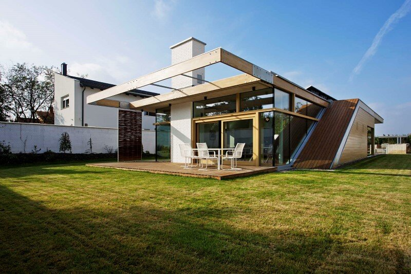 TD House combination of modernism and rural architecture (1)