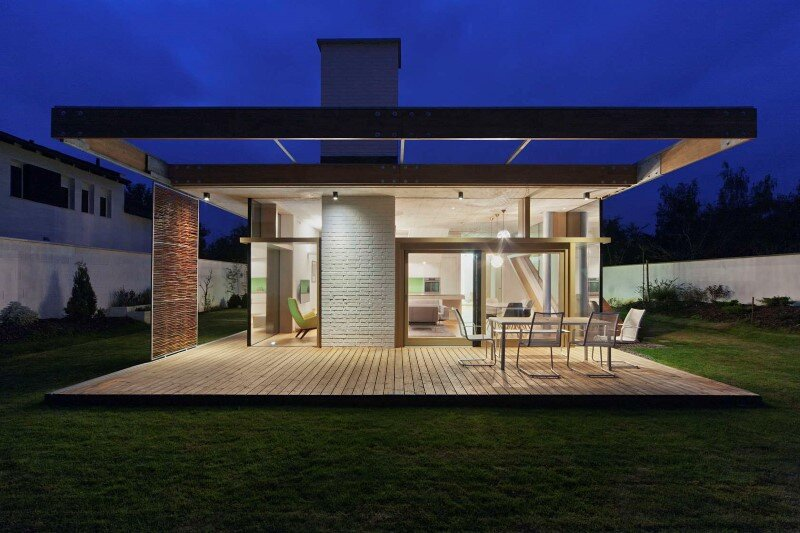 TD House combination of modernism and rural architecture (11)