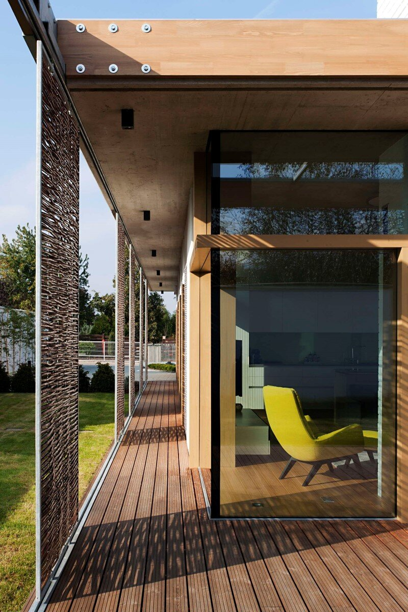 TD House combination of modernism and rural architecture (17)