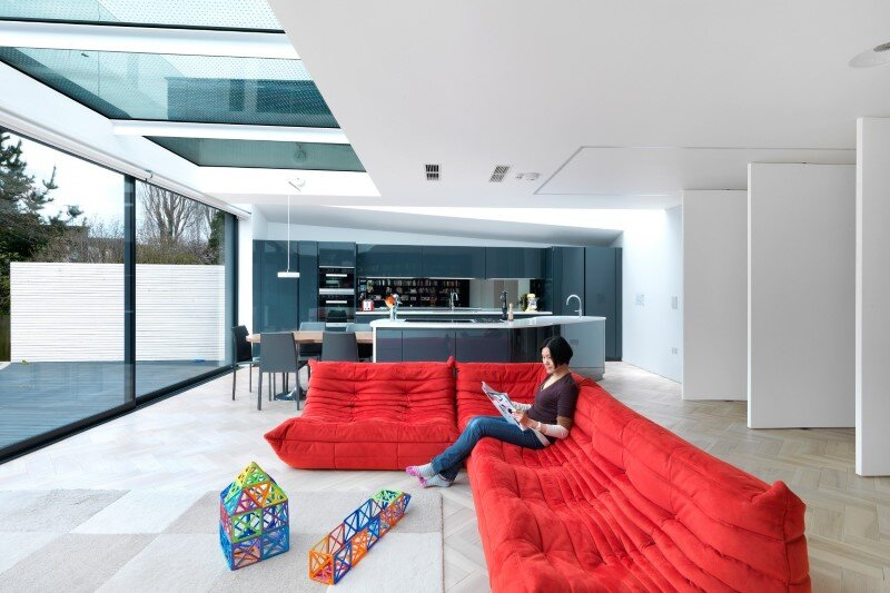 Talbot Road House by Lipton Plant Architects - This family home is located in London (6)
