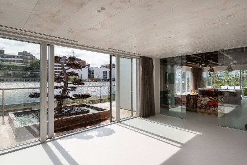 Two-bedroom London penthouse constructed on a Cross-Laminated Timber frame (4)