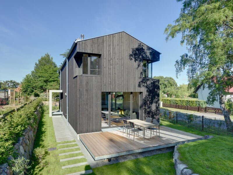 WieckIn Vacation House - traditional German architecture by Möhring Architekten (15)