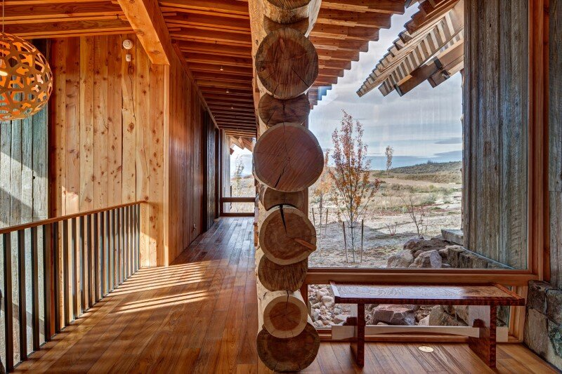 Wolf Creek Ranch - Log Home with traditional ranch architecture (14)