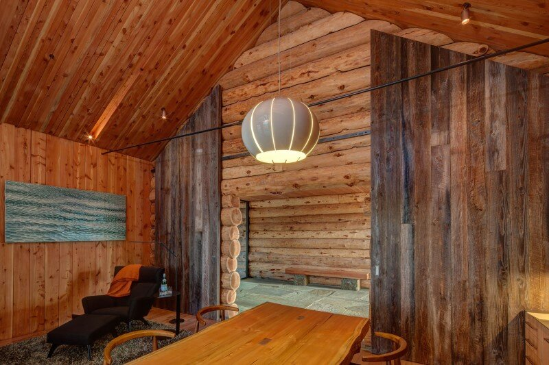 Wolf Creek Ranch - Log Home with traditional ranch architecture (17)
