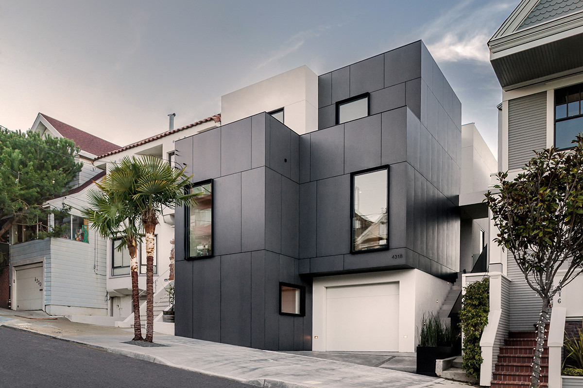 3-Story House by Edmonds + Lee Architects - Cube Residence (1)