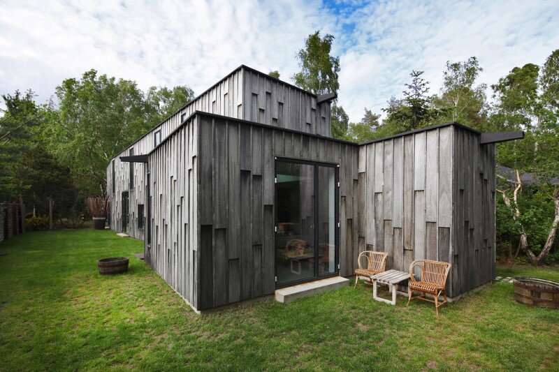 Architectural facade which offers an attractive look Forest House (1)