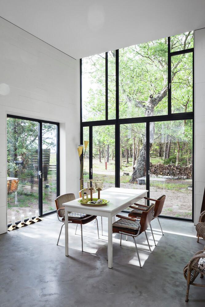 Architectural facade which offers an attractive look Forest House (15)