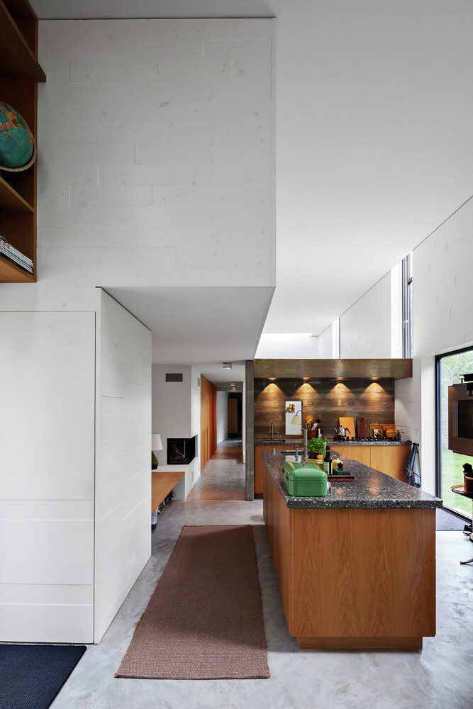 Architectural facade which offers an attractive look Forest House (17)