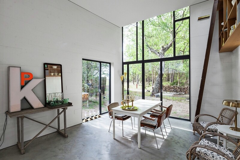 Architectural facade which offers an attractive look Forest House (5)