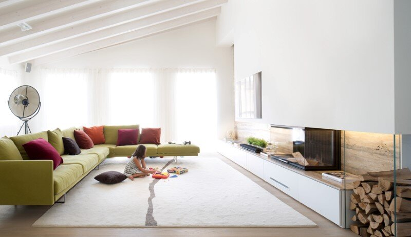 Attic apartment in Verona by Michele Perlini 3