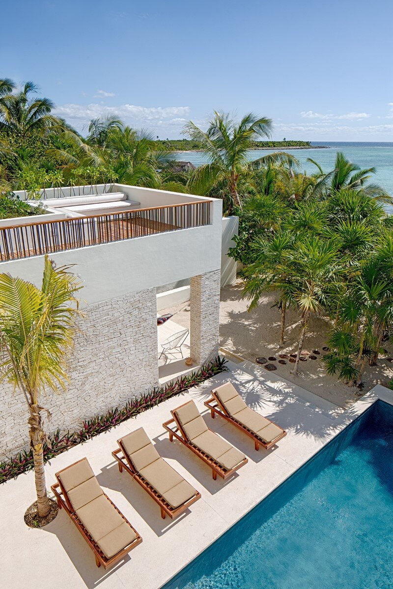 Beachfront private house on a protected bay in Tulum, Mexico (10)