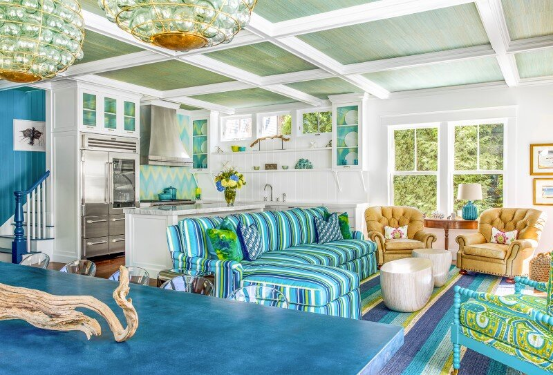 Cape Cod Beach House - interior design project conceived by Evolve (5)