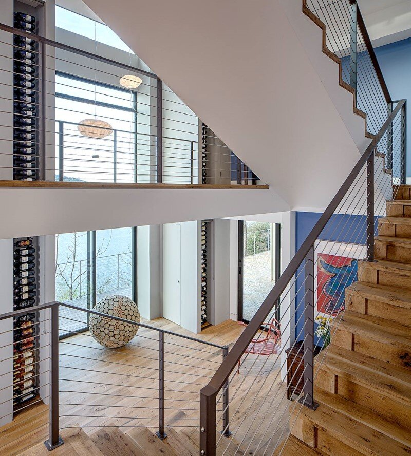 Cliff Dwelling - a residential renovation with a cliff-side view over Lake Austin (3)