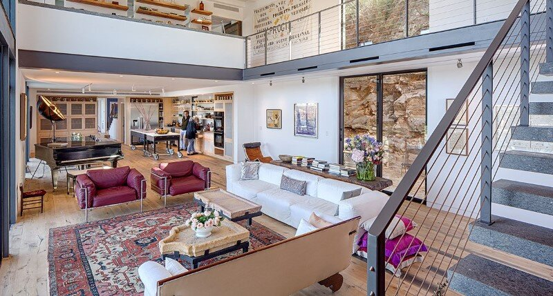 Cliff Dwelling - a residential renovation with a cliff-side view over Lake Austin (9)