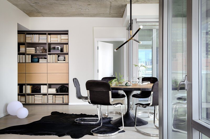 Concrete Jungle Apartment in River North Chicago by Project Interiors (4)