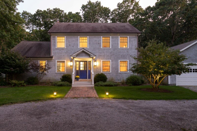 East Hampton Beach Cottage - homely home transformed into a buoyant and sparkling oasis (1)