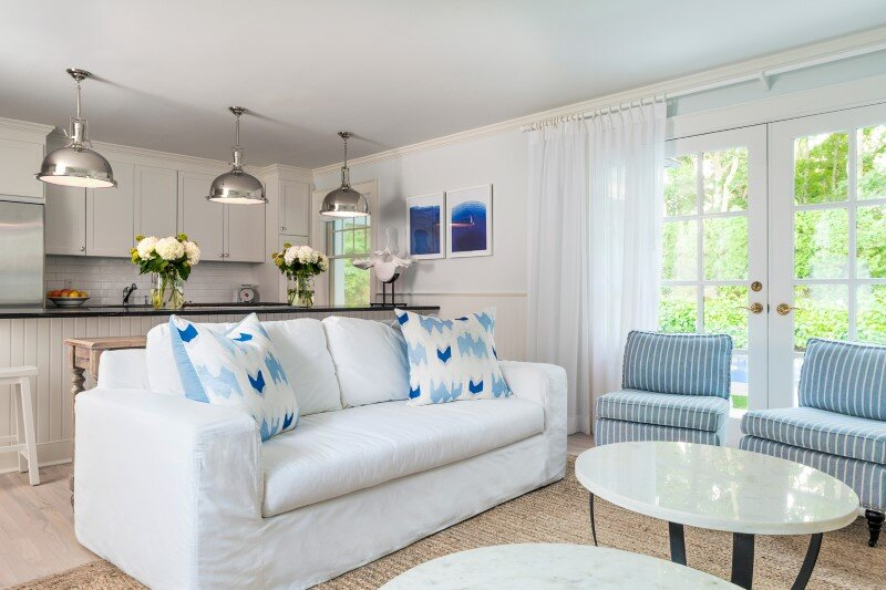 East Hampton Beach Cottage - homely home transformed into a buoyant and sparkling oasis (8)