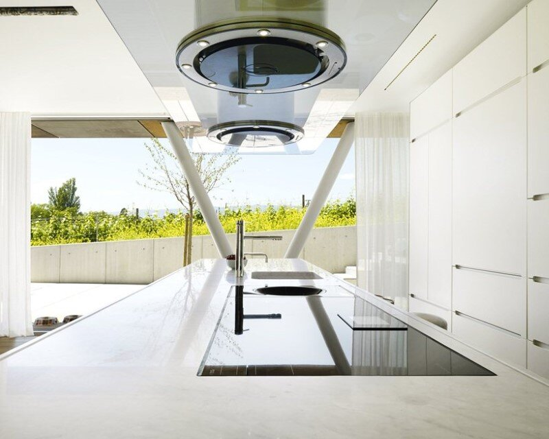 Eco friendly house design - Villa Jewel Box with an multifaceted garden outer shell (6)