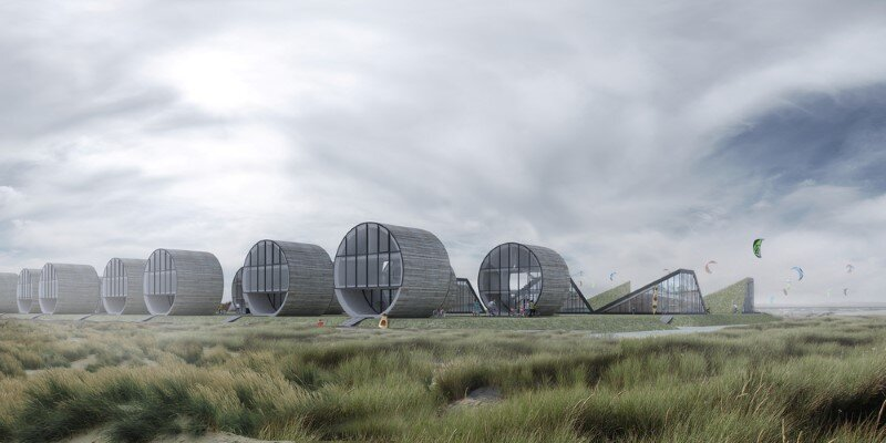 Futuristic architecture - 12 single family rolling homes by Do Architects (6)
