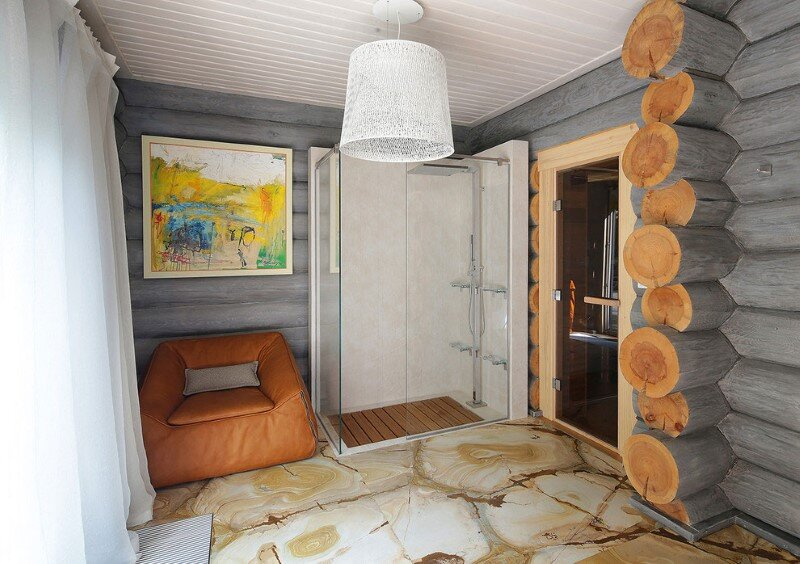 Gorgeous Wooden Cottage with Modern Interiors (14)