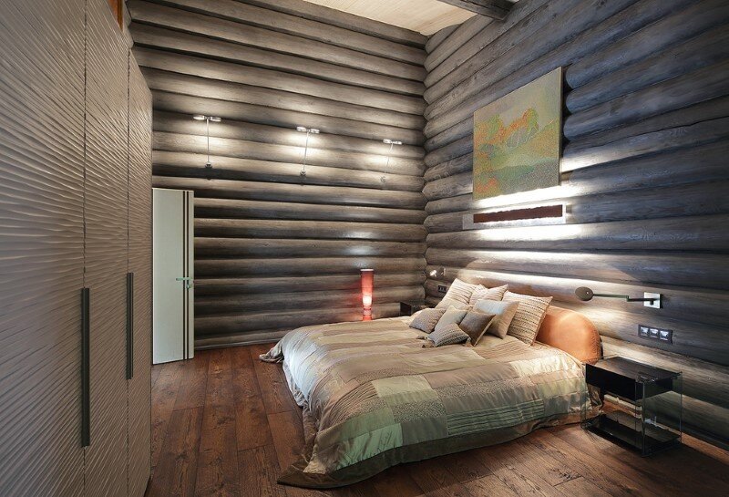 Gorgeous Wooden Cottage with Modern Interiors (17)