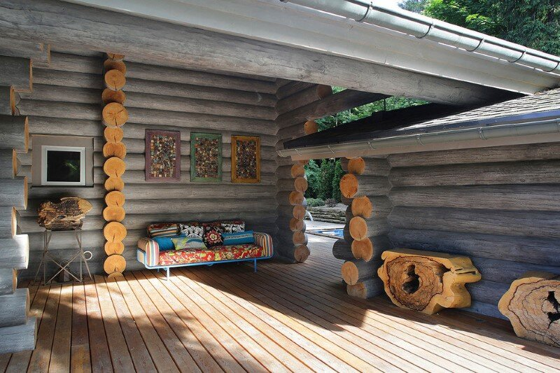 Gorgeous Wooden Cottage with Modern Interiors (2)