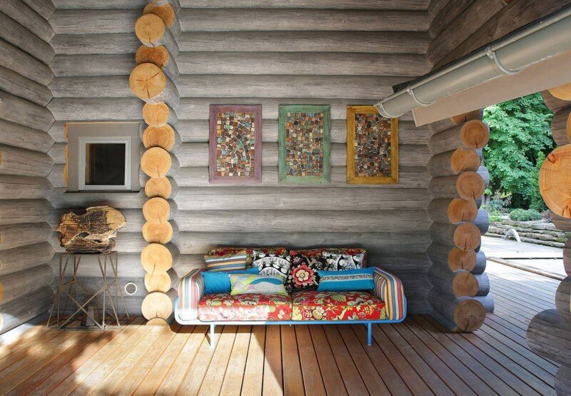 Gorgeous Wooden Cottage with Modern Interiors (3)