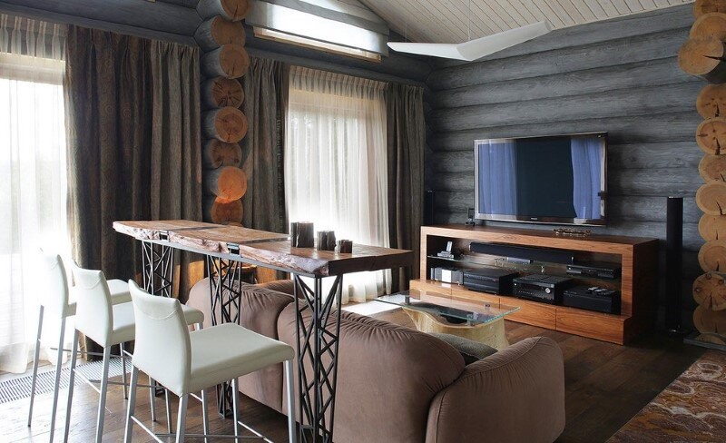 Gorgeous Wooden Cottage with Modern Interiors (7)