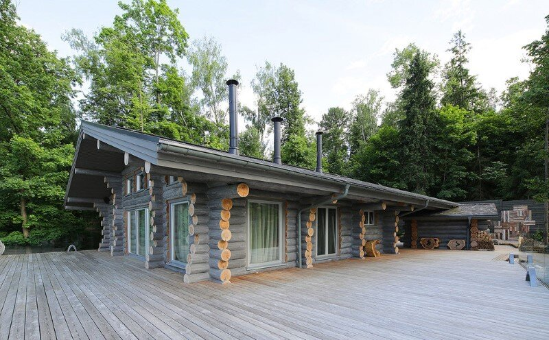 Gorgeous Wooden House with Modern Interiors (1)