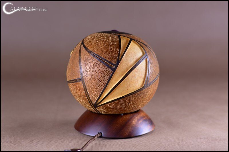Handcrafted gourd lamps by Calabarte (17)