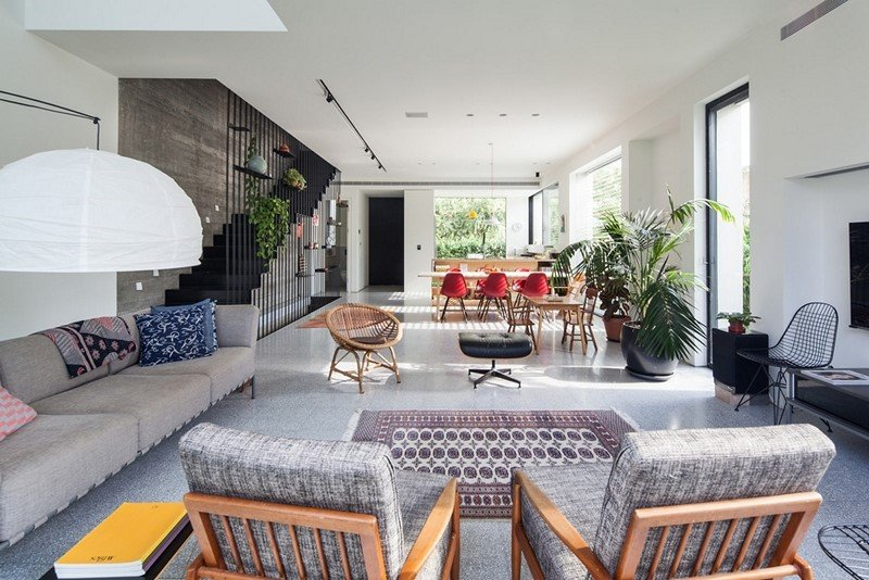 Modern townhouse in Tel Aviv Mendelkern Residence by David Lebenthal (13)