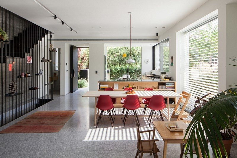 Modern townhouse in Tel Aviv Mendelkern Residence by David Lebenthal (9)