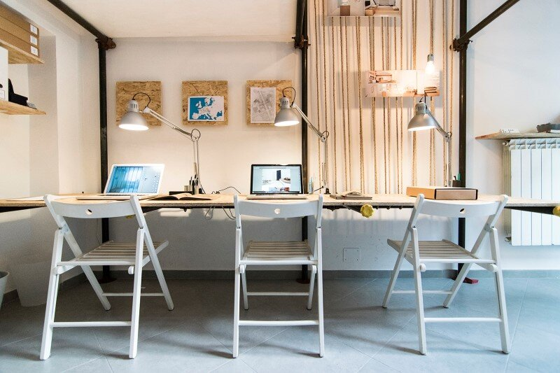 R3architetti Have Transformed a Small Atelier of 14 sqm in Their Own Creating Space (9)