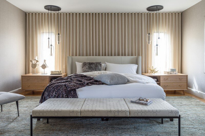 bedroom, Hacin + Associates