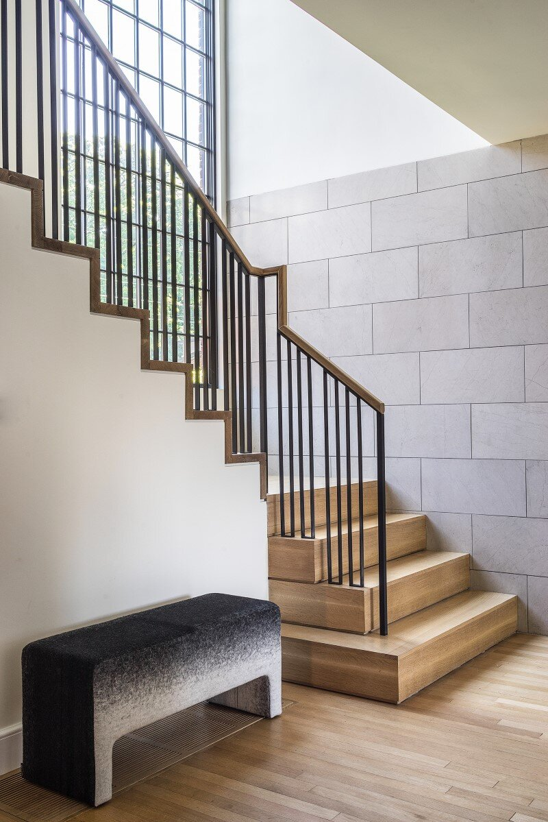 staircase, Hacin + Associates