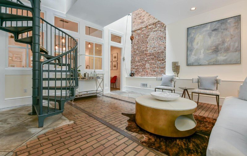 Renovated 1850s firehouse with preserving the original architectural elements (10)