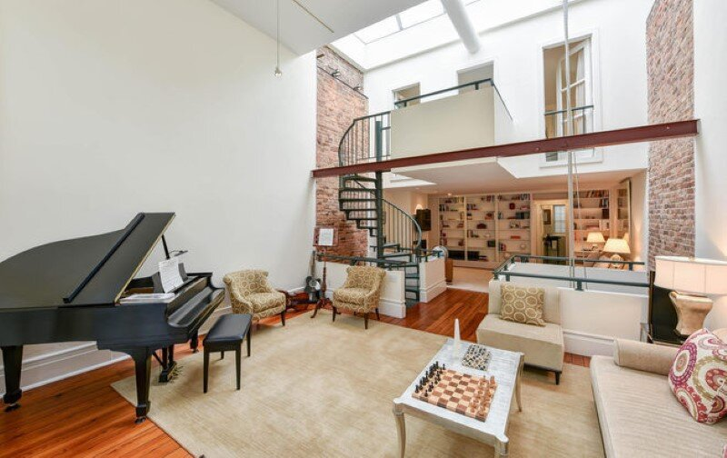Renovated 1850s firehouse with preserving the original architectural elements (2)