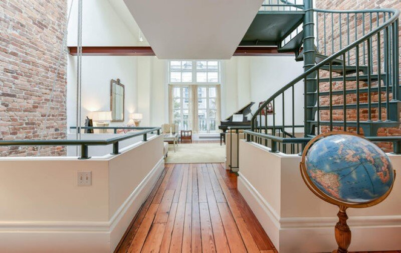 Renovated 1850s firehouse with preserving the original architectural elements (3)