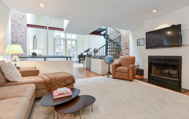 Renovated 1850s firehouse with preserving the original architectural elements (6)