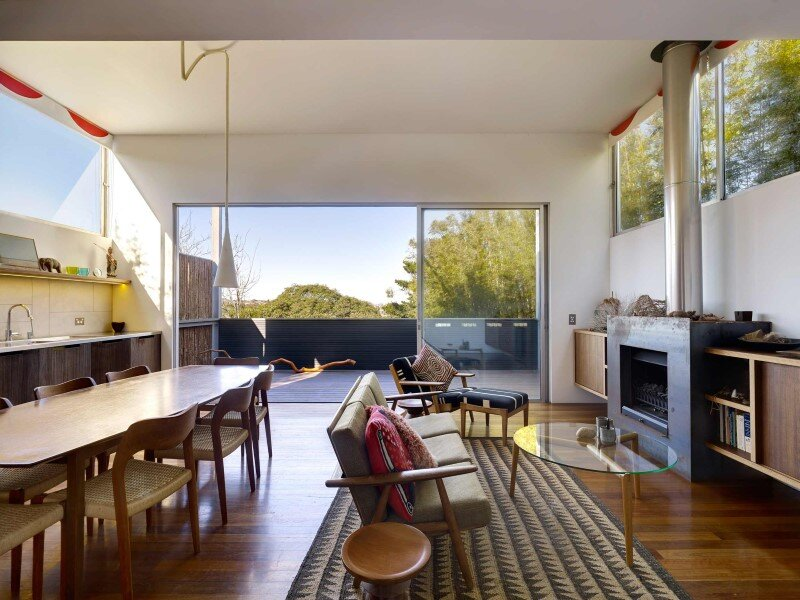 Renovation and an addition to an existing 1930s duplex - Kerridge house + apartment (14)