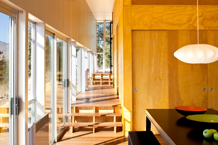 Sustainable Hill Home - a big presence in a big landscape (9)