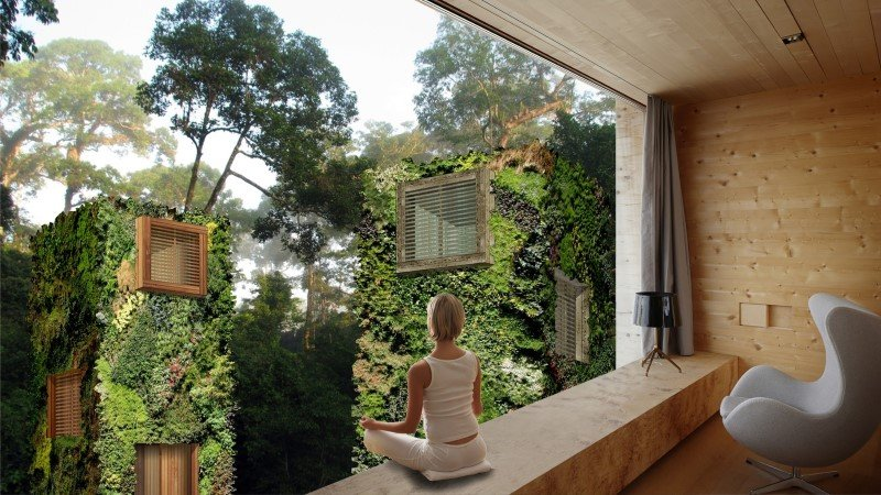 Sustainable Houses Designed as Trees by Oas1s (1)