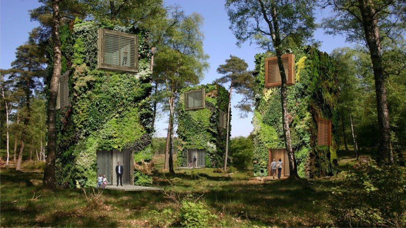 Sustainable Houses Designed as Trees by Oas1s (2)
